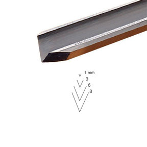 #15 Sweep V-Parting Tool 3 mm Full Size