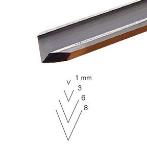 #15 Sweep V-Parting Tool 8 mm Full Size