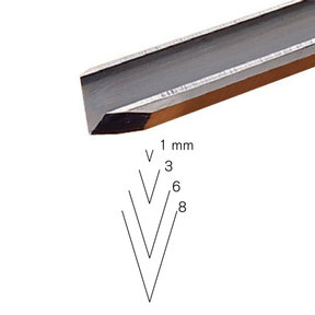#16 Sweep V-Parting Tool 8 mm Full Size