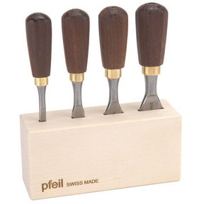 Butt Chisel Set of Four