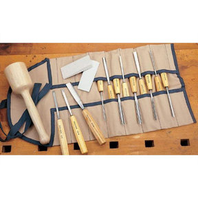 Carving Tool Set - Full Size - 16 Piece