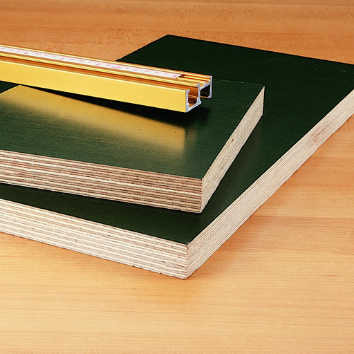 """View a Larger Image of Phenolic Faced Plywood 18mm-3/4"""" x 24"""" x 48"""""""