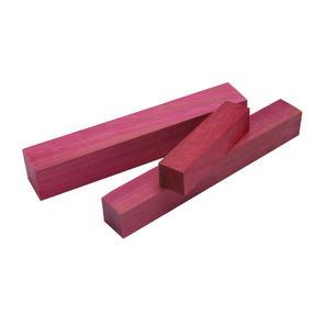 """Pink Ivory 1-1/2"""" x 1-1/2"""" x 6"""" Wood Turning Stock"""