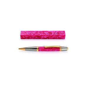 """Acrylic 3/4"""" x 3/4"""" x 5"""" Pink Quartz Turning Stock"""