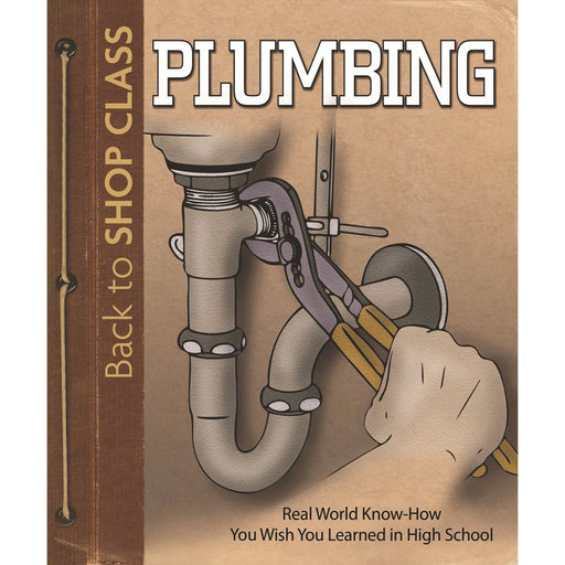 View a Larger Image of Plumbing: Back to Shop Class