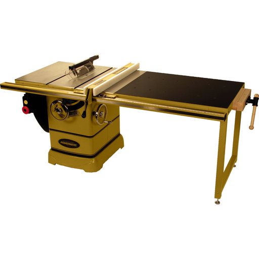 """View a Larger Image of PM2000 10"""" Tablesaw, 5HP, 1Ph, 230V, 50"""" Accu-Fence System and Workbench"""