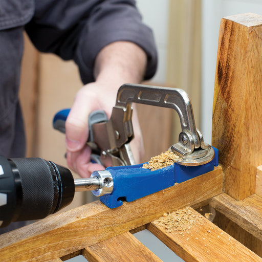 View a Larger Image of Single Drill Guide 310 Pocket-Hole Jig