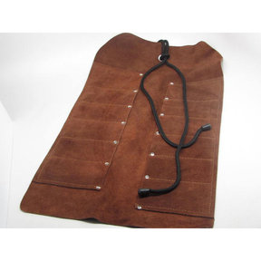 Pocket Leather Tool Roll 12 pocket