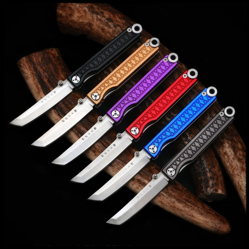 View a Larger Image of Pocket Samurai  Keychain Knife - Black