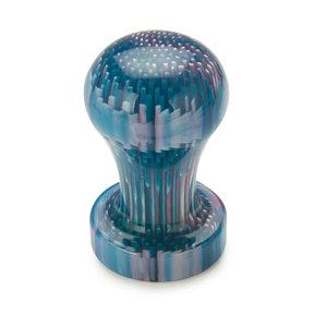 """Poly Resin Bottle Stopper Blank - 1-1/2"""" x 1-1/2"""" x 3"""" - Purple Urchin"""
