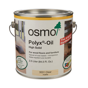 Polyx-Oil 3031 Solvent Based - Matte Clear - 2.5 Liter
