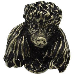 Poodle Knob Brass Oxide