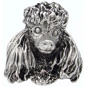Poodle Knob Pewter Oxide