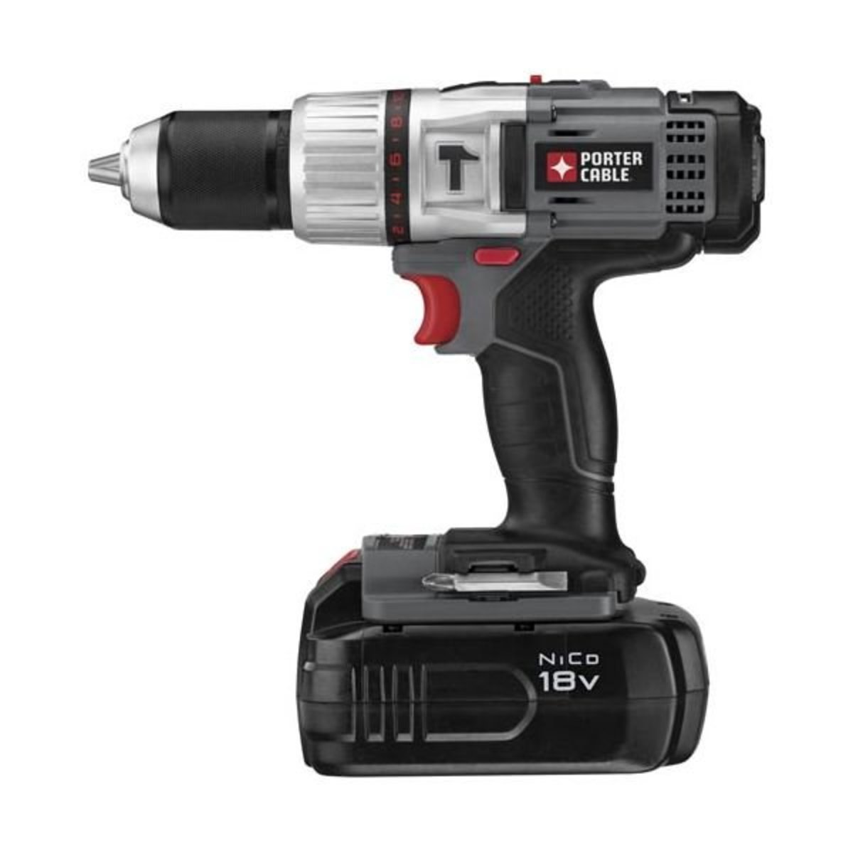 """View a Larger Image of 18V NiCD 1/2"""" Compact Hammer Drill Kit, Model PC180CHDK-2"""
