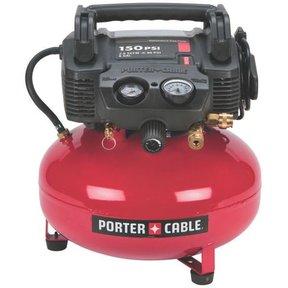 4/5HP 6 Gallon Oil-Free Pancake Air Compressor