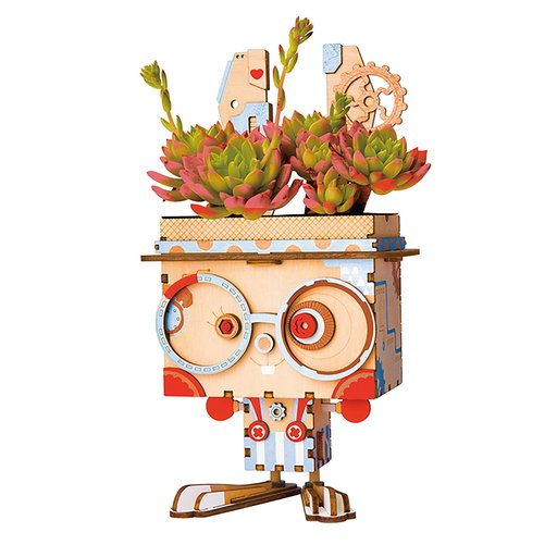 View a Larger Image of Pot Bunny Flower Pot Kit