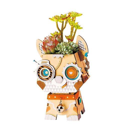 View a Larger Image of Pot Puppy Flower Pot Kit
