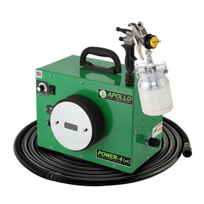 Power-4 VS HVLP Spray System with Quick-Release Cup Gun
