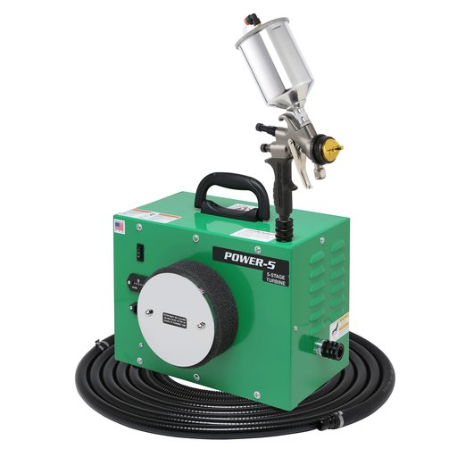 View a Larger Image of POWER-5 with A7700GT-600 spray gun