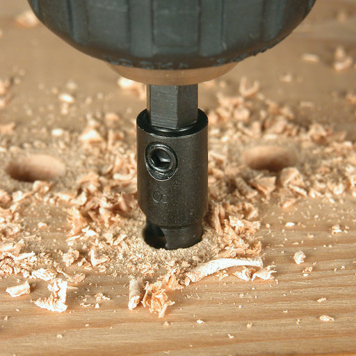 View a Larger Image of Power Groove Countersinks - 5 Piece