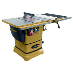 """1-3/4HP 1PH 115/230V PM1000 Table Saw with 30"""" Accu-Fence System"""
