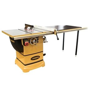 """1-3/4HP 1PH 115/230V PM1000 Table Saw with 52"""" Accu-Fence System"""