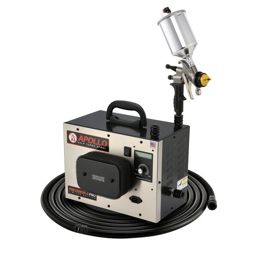 View a Larger Image of Precision-5 PRO LE+ HVLP Spray System with Gravity Feed Spray
