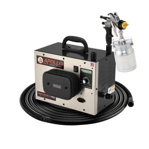 View a Larger Image of Precision-5 PRO LE+ HVLP Spray System with Quick-Release Cup
