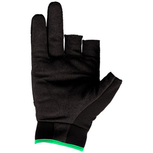 View a Larger Image of Precision Gloves, Black/Green, Large