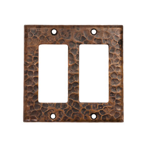 Double Ground Fault / Rocker GFI Switchplate Cover