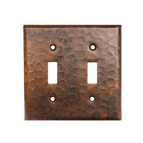 Switchplate Cover - Double Toggle Switch