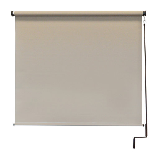 View a Larger Image of Premier Cordless Outdoor Sun Shade, 7' W x 8' L, Maple