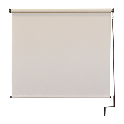 View a Larger Image of Premier Cordless Outdoor Sun Shade, 8' W x 8' L, Palm