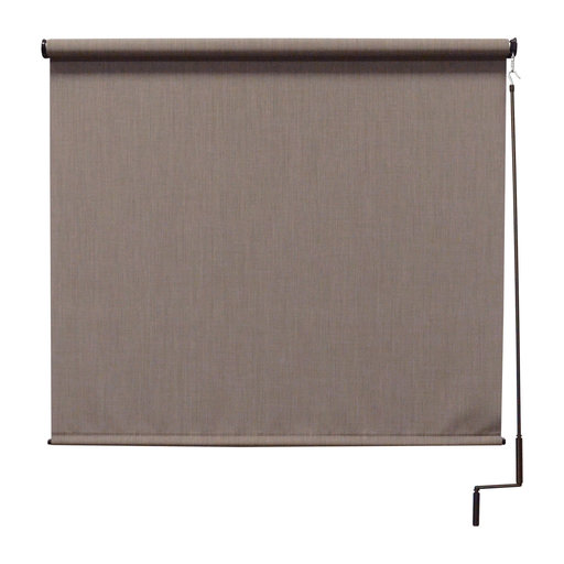 View a Larger Image of Premier Cordless Outdoor Sun Shade, 8' W x 8' L, Sandstone