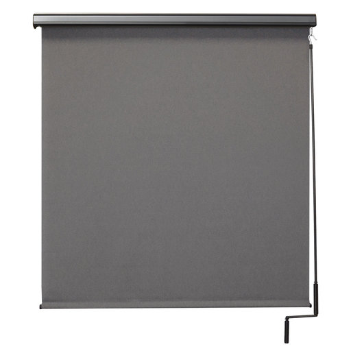 View a Larger Image of Premier Cordless Outdoor Sun Shade with Protective Valance, 7' W x 8' L, Elder