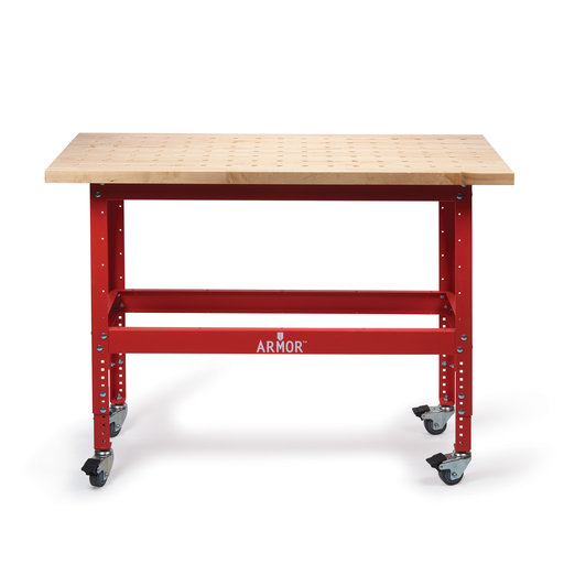 View a Larger Image of Premium Hardwood Clamp Table 54x25