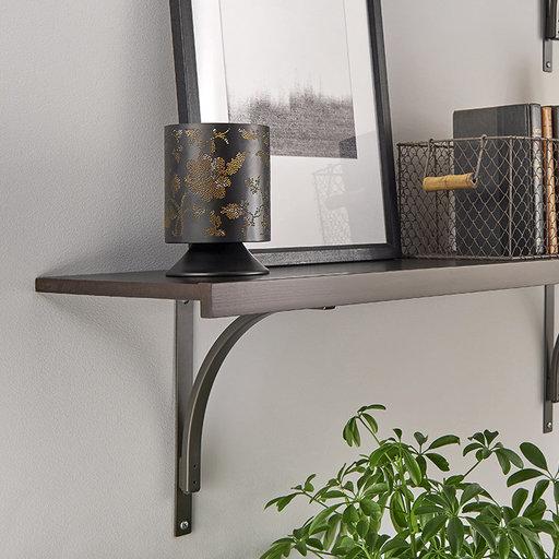 "View a Larger Image of Premium Wood Shelf Kit 48"" W x 16"" D, Espresso"
