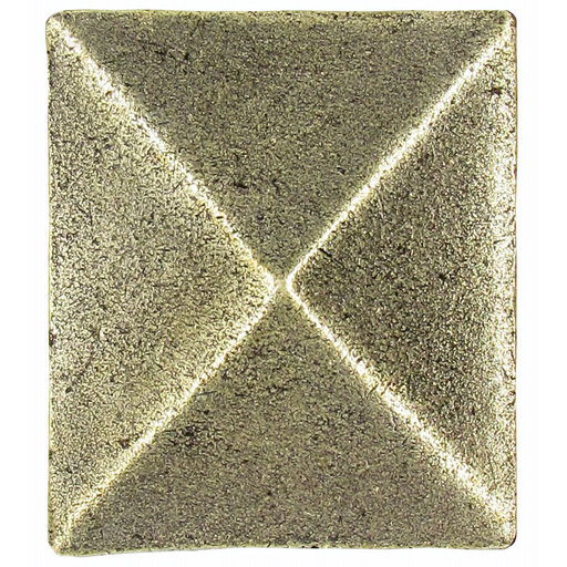 View a Larger Image of Prism Pyramid Knob Brass Oxide