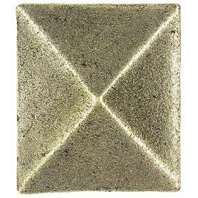 Prism Pyramid Knob Brass Oxide