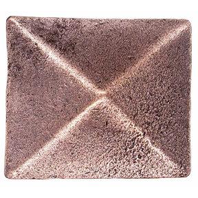 Prism Pyramid Knob Copper Oxide