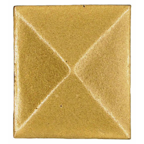 Prism Pyramid Knob Lux Gold