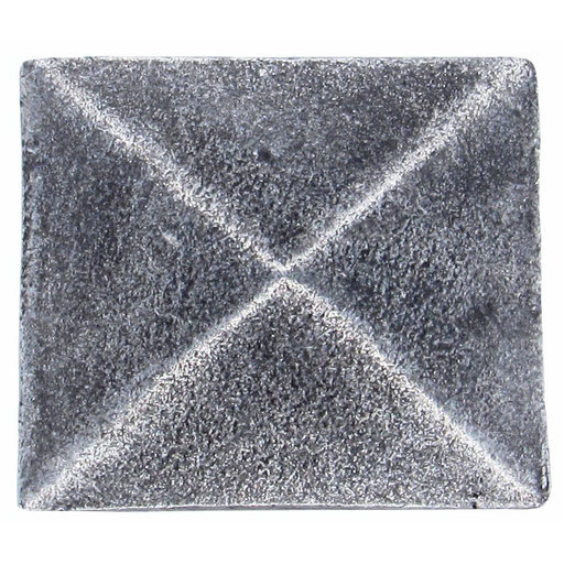 View a Larger Image of Prism Pyramid Knob Pewter Oxide