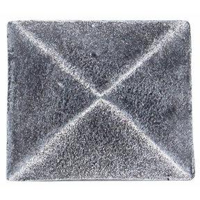 Prism Pyramid Knob Pewter Oxide