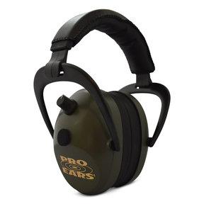 Gold II 26 - Green - Electronic Earmuffs