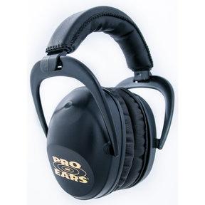 Ultra Sleek Black - Passive Hearing Protection