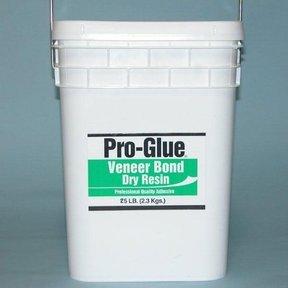 Pro-Glue Veneer Bond Dry Resin Glue, 25 lb Pail