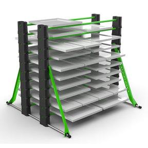 PRO Series 10-Level Erecta-Rack Kit w/ Bag