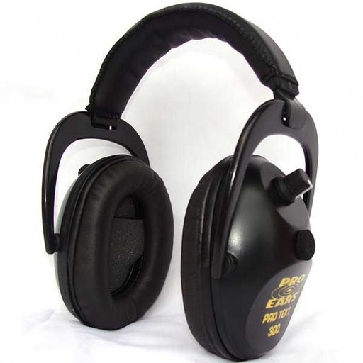 View a Larger Image of Pro TEKT 300 Electronic Hearing Protection with Standard Headband , Black
