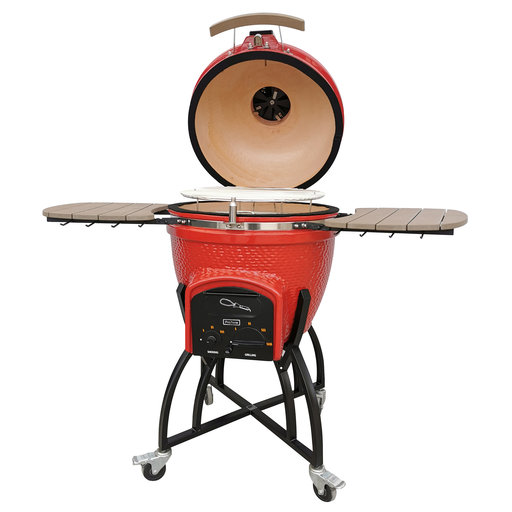 View a Larger Image of Professional C-Series Ceramic Kamado, Red