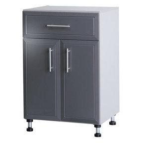 ProGarage 2-Door Storage Cabinet, Gray